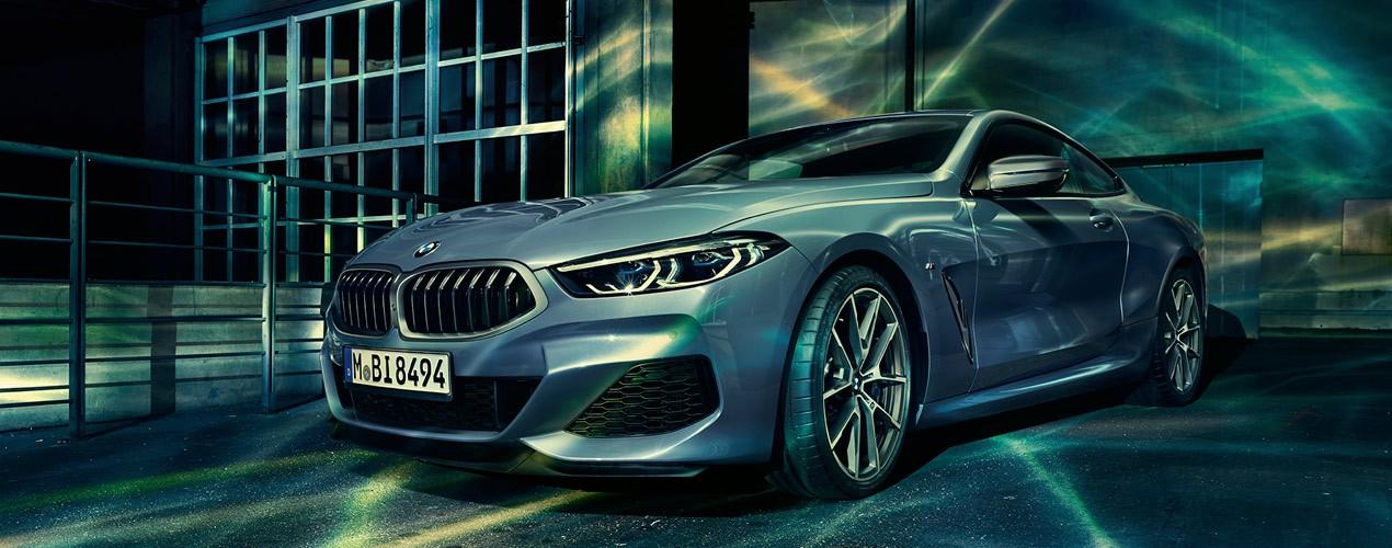 Nouvel THE 8 : la voiture de sport de luxe de BMW - BMW HUCHET SAS KR-98